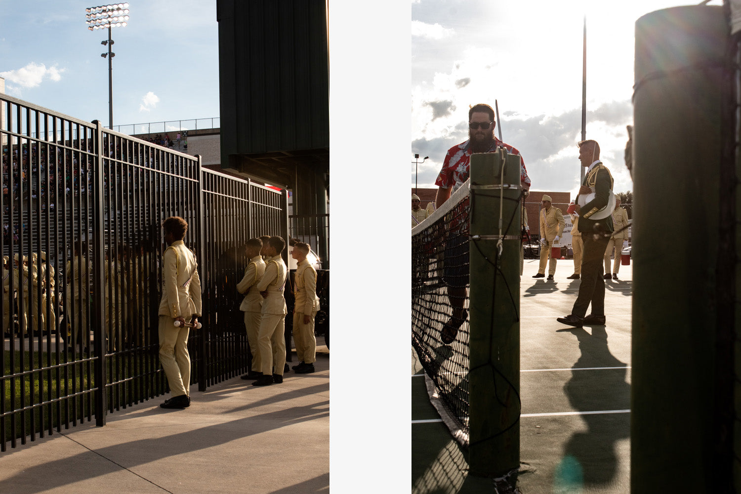 Maddee MacLeod photos of Madison Scouts on Lot Riot