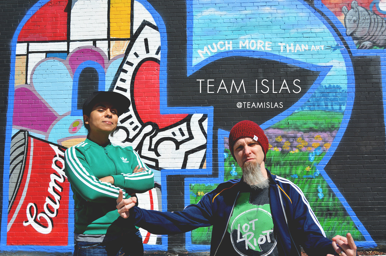 Team Islas join the Lot Riot Accomplice team.