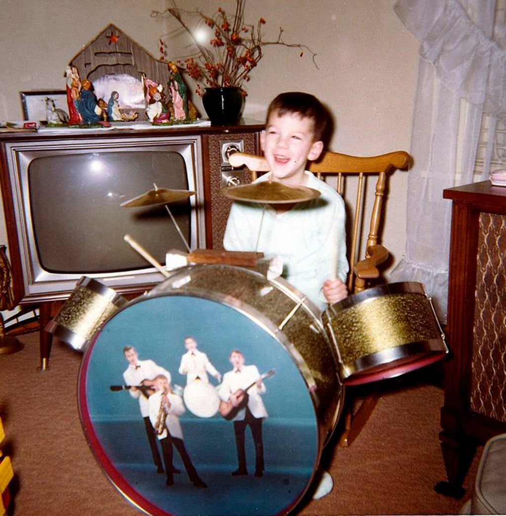 Christmas Morning Kid Drum