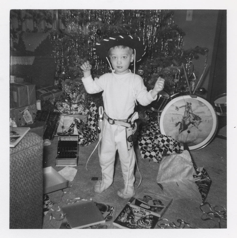 Vintage Kid Drum Christmas