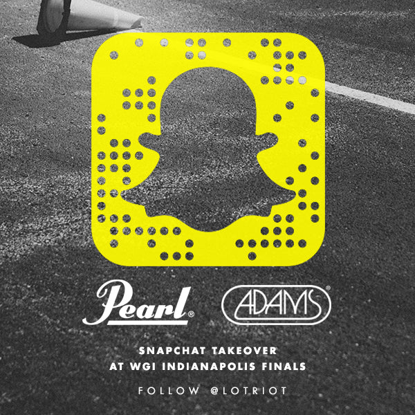 Pearl/Adams snapchat takeover. Pearl snapchat takeover Lot Riot account.
