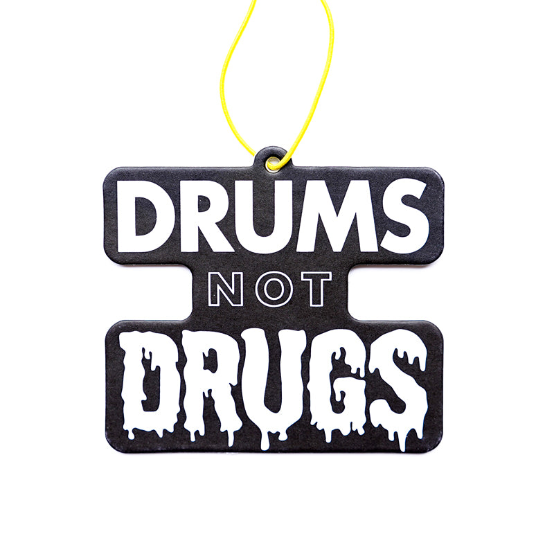 Drums Not Drugs Air Freshener