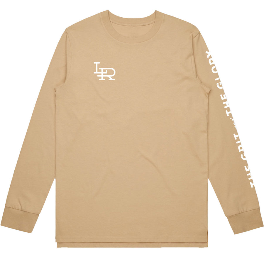Monogram Long Sleeve - Tan