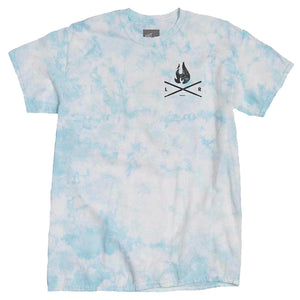 Flame Crystal Tee - Blue Sky