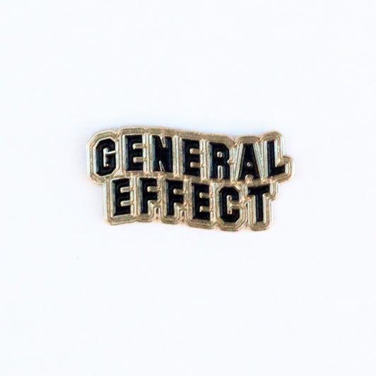 General Effect Lapel Pin