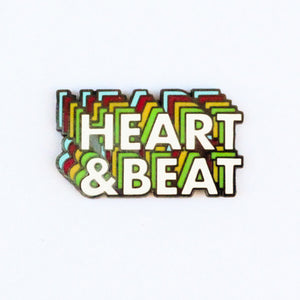 Heart & Beat Lapel Pin