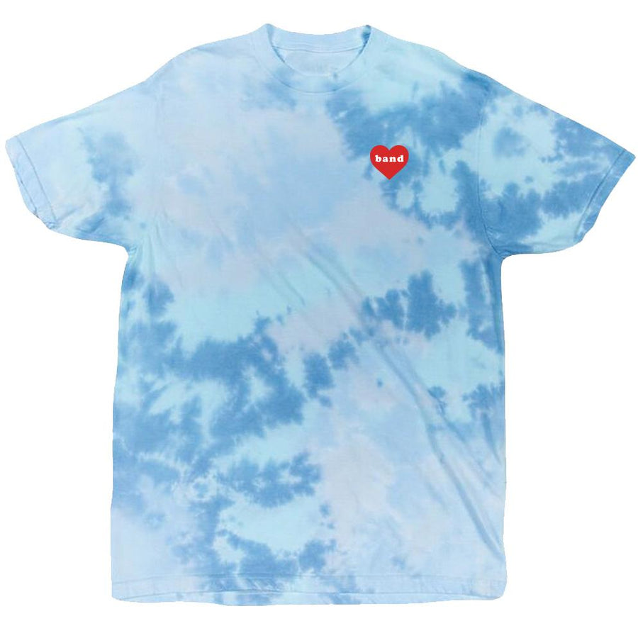 Band Heart Tee Tiedye