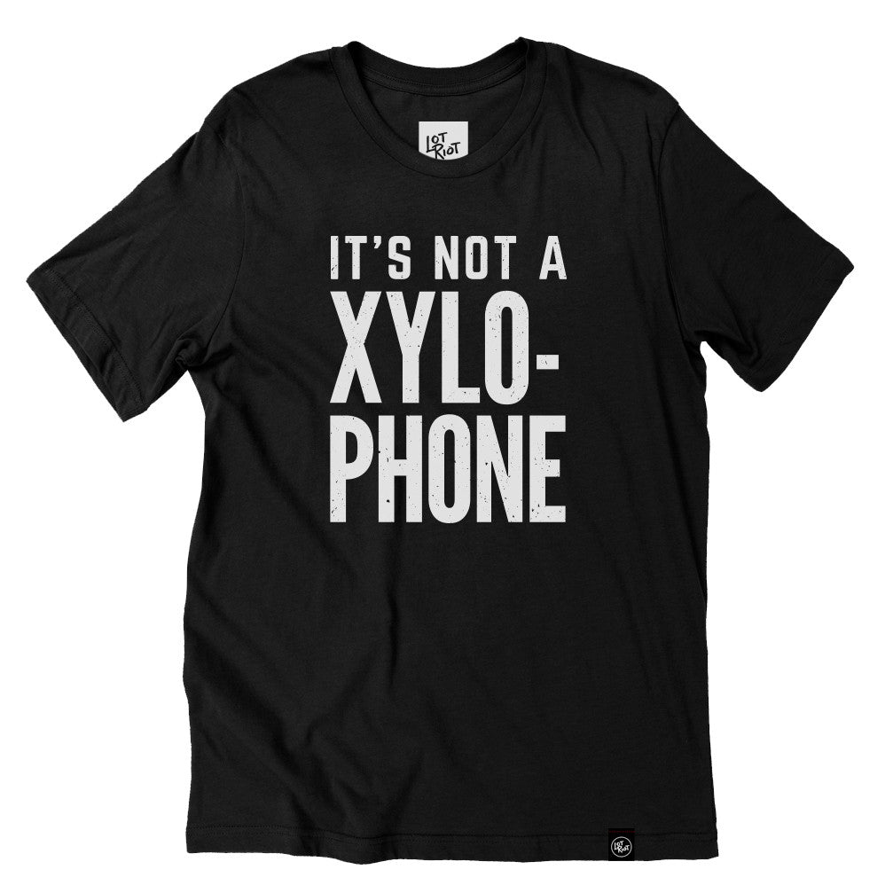 Not a Xylo Tee - Black/White