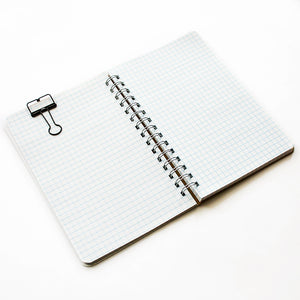 Graph Notebook - White Geo Pearl