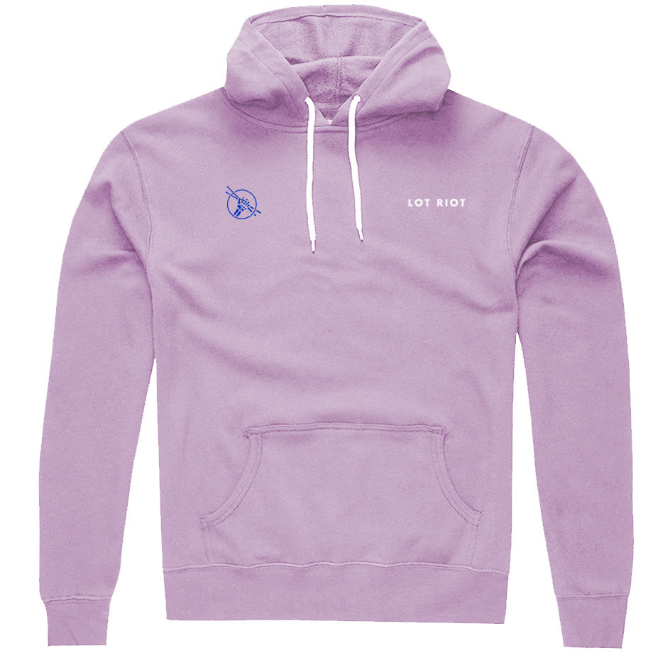 Three Four Pullover Hoodie - Lavender