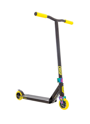 Crisp Switch Pro Scooters - Black/Yellow