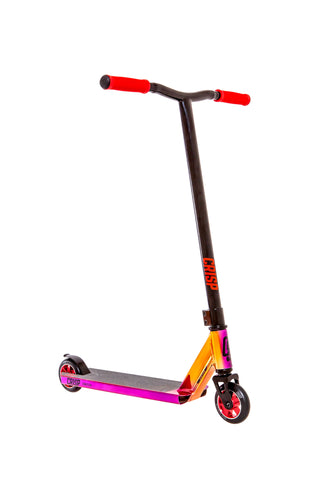 Crisp Switch Pro Scooter - Chrome Red