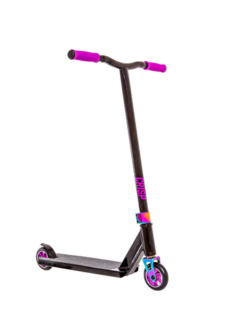 Crisp Switch Pro Scooter - Black/Purple