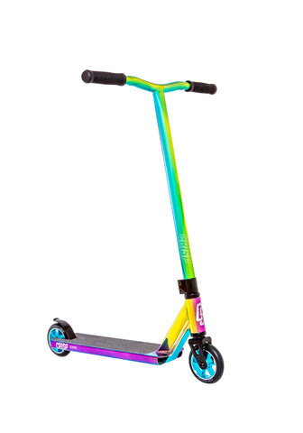 Crisp Surge Pro Scooter - Neo Chrome Rainbow