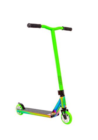 Crisp Surge Pro Scooter - Neo Chrome Green