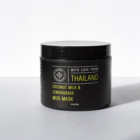 Coconut Milk & Lemongrass Mud Mask | Thailand