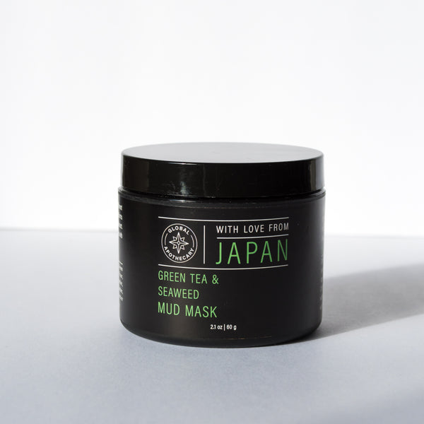 Green Tea & Seaweed Mud Mask | Japan