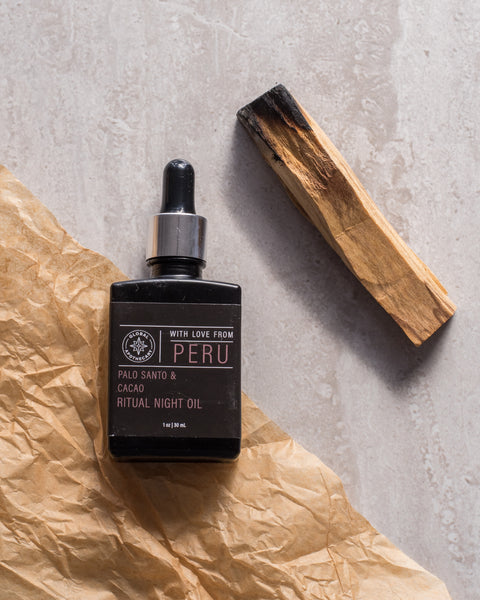 Palo Santo & Cacao Ritual Night Oil | Peru