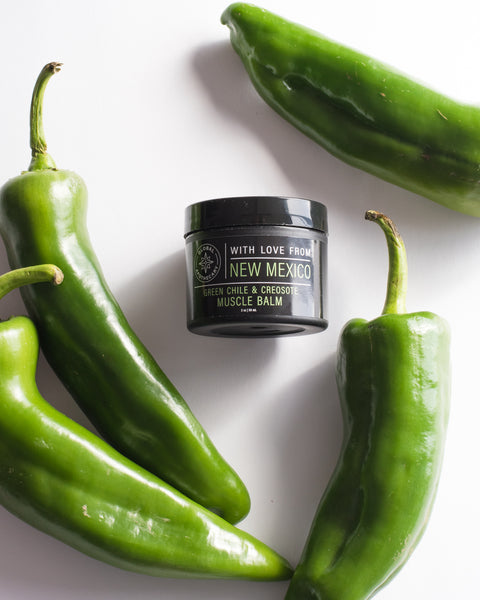Green Chile & Creosote Muscle Balm | New Mexico