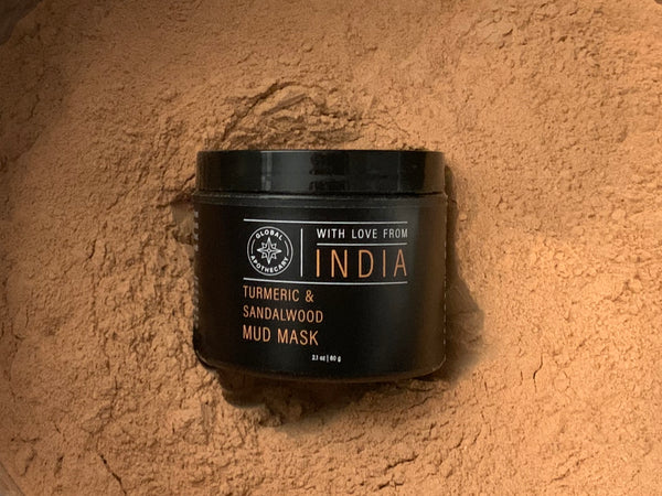 Turmeric & Sandalwood Mud Mask | India