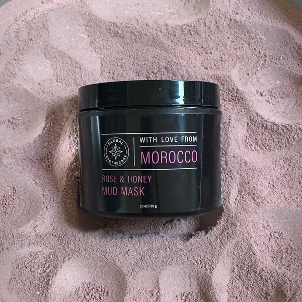 Rose & Honey Mud Mask | Morocco