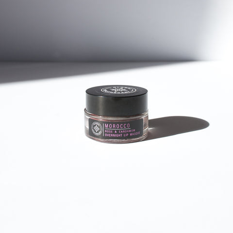 Rose & Cardamom Overnight Lip Masque | Morocco