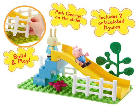 Peppa Pig Playground Slide |  Peppa Pig Construction Playset | Planet Superheroes