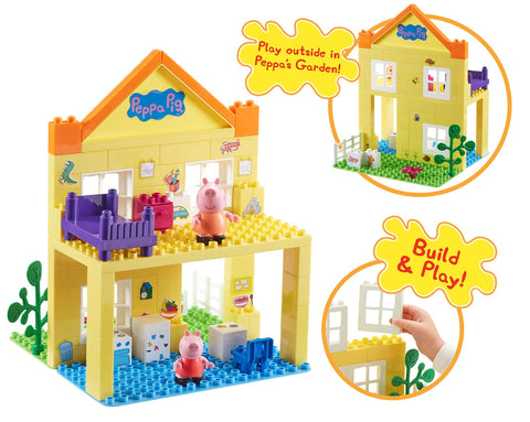 Peppa Pig Deluxe Playhouse Set | Peppa Pig Toy Doll House | Planet Superheroes
