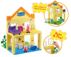 Peppa Pig - Deluxe Peppa House Construction Playset By Planet Superheroes