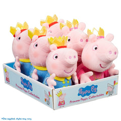 Peppa Pig Plush Toy - Peppa Pig George Toys Princess Plush Toys- Any one (Assorted)