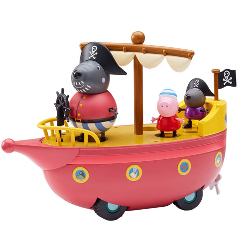 Peppa Pig Pirate Ship | Planet Superheroes