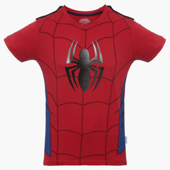 Spiderman Suit Red T-Shirt for Boys
