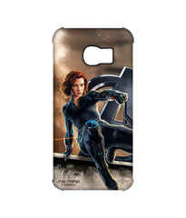 Avengers Black Widow Age of Ultron Super Spy Pro Case for Samsung S6 Edge