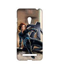Avengers Black Widow Age of Ultron Super Spy Sublime Case for Asus Zenfone 5
