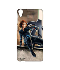 Avengers Black Widow Age of Ultron Super Spy Sublime Case for HTC Desire 820