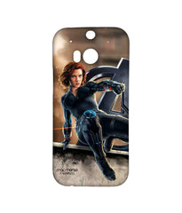 Avengers Black Widow Age of Ultron Super Spy Sublime Case for HTC One M8 Eye
