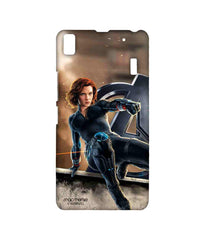Avengers Black Widow Age of Ultron Super Spy Sublime Case for Lenovo A7000