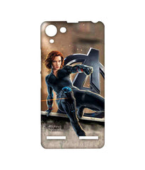 Avengers Black Widow Age of Ultron Super Spy Sublime Case for Lenovo Vibe K5