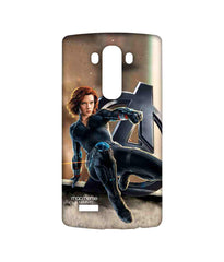 Avengers Black Widow Age of Ultron Super Spy Sublime Case for LG G4