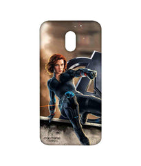 Avengers Black Widow Age of Ultron Super Spy Sublime Case for Moto E3 Power