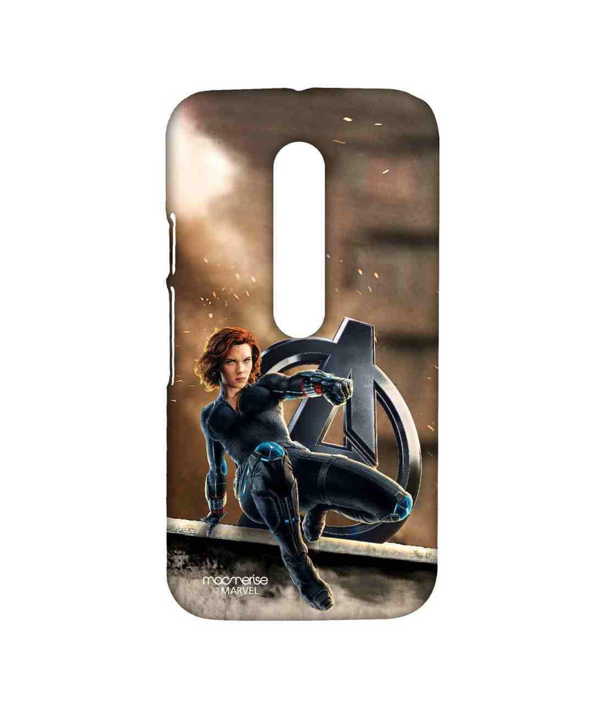 Avengers Black Widow Age of Ultron Super Spy Sublime Case for Moto G Turbo