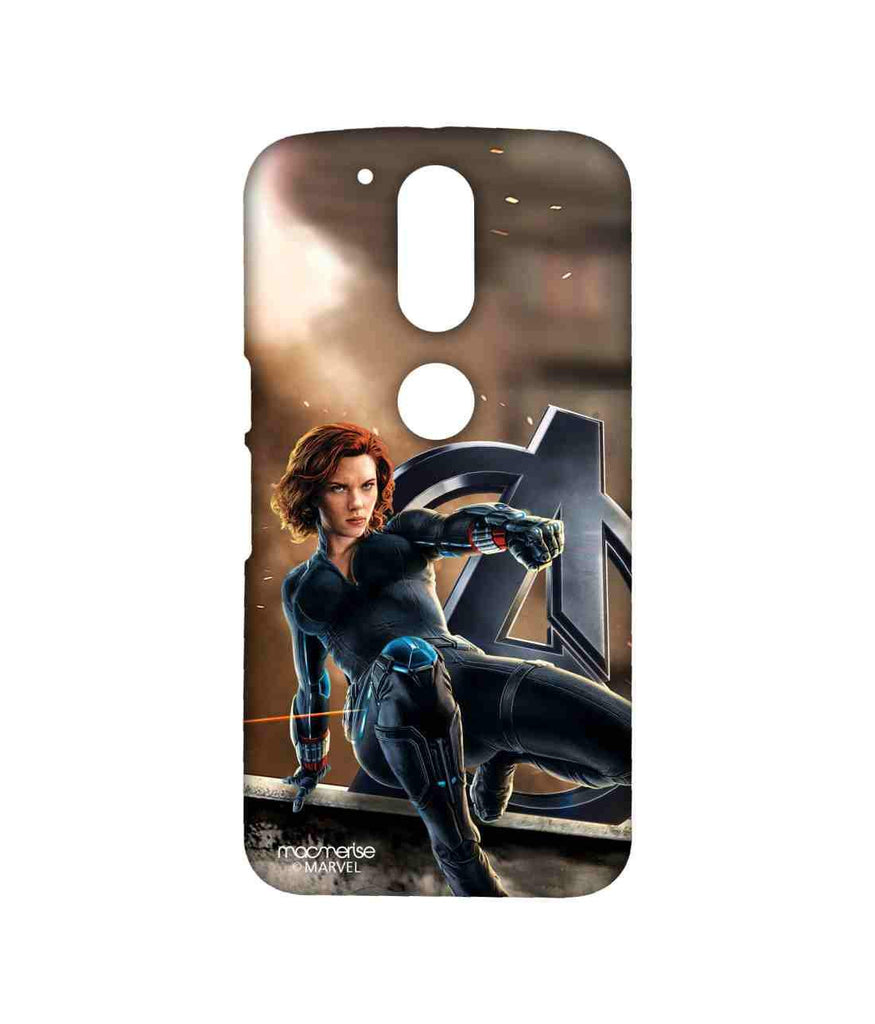Avengers Black Widow Age of Ultron Super Spy Sublime Case for Moto G4