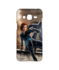 Avengers Black Widow Age of Ultron Super Spy Sublime Case for Samsung J3 (2016)