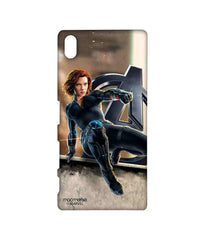 Avengers Black Widow Age of Ultron Super Spy Sublime Case for Sony Xperia Z5 Premium