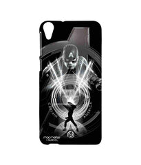 Avengers Captain America Age of Ultron Black Captain Sublime Case for HTC Desire 820