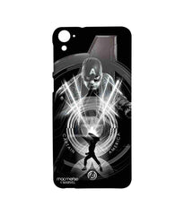 Avengers Captain America Age of Ultron Black Captain Sublime Case for HTC Desire 826