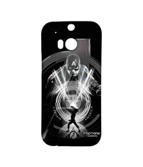 Avengers Captain America Age of Ultron Black Captain Sublime Case for HTC One M8S