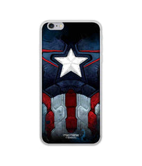 Avengers Captain America Age of Ultron Cap Am Suit Jello Case for iPhone 6 Plus