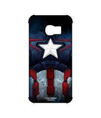 Avengers Captain America Age of Ultron Cap Am Suit Pro Case for Samsung S6 Edge