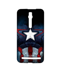 Avengers Captain America Age of Ultron Cap Am Suit Sublime Case for Asus Zenfone 2